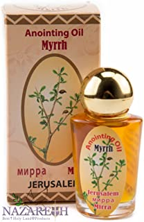 Myrrh Mirra Anointing Oil Jerusalem Plastic Bottle 30ml Authentic Fragrance