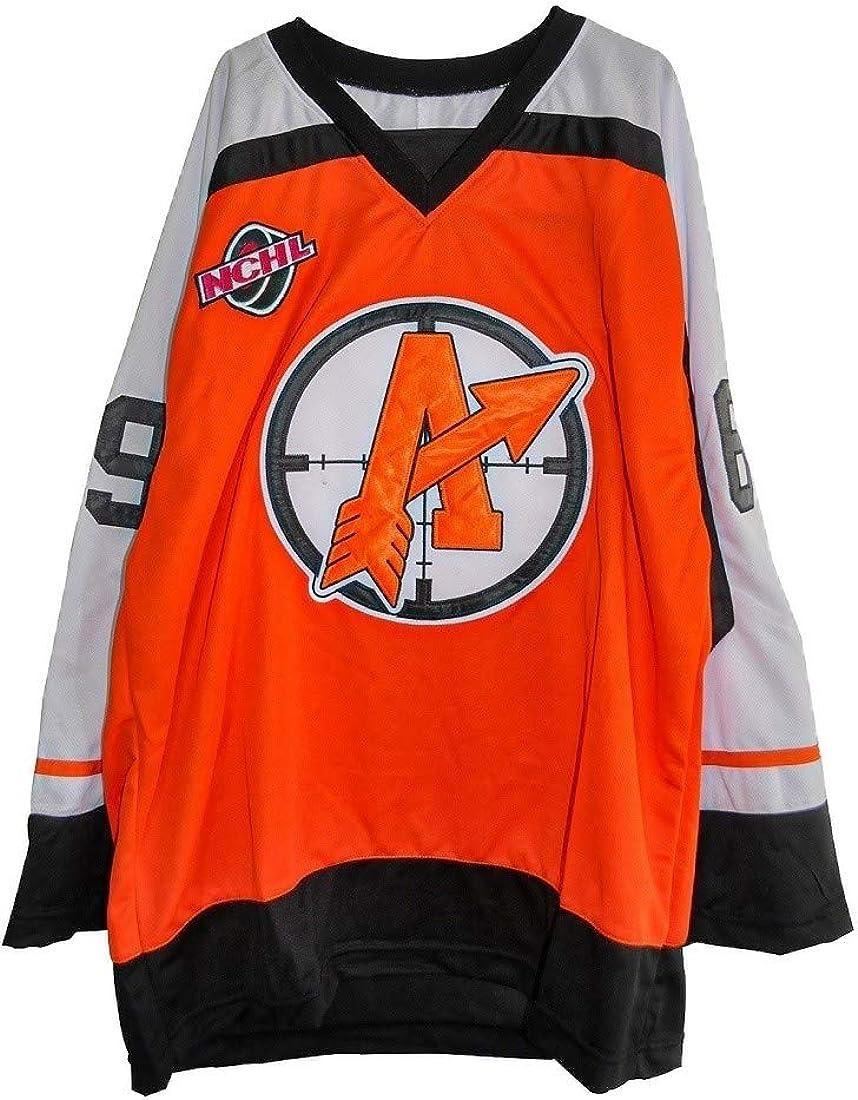 Cheap super special price borizcustoms Doug The Thug Glatt Orangetown Movie Hockey Cheap Jersey