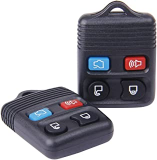 Big Autoparts Key Fob 4 Button Keyless Entry Remote Control Key Fob fit for Ford Focus Explorer Mercury Lincoln Mazda Tribute,2 Pack