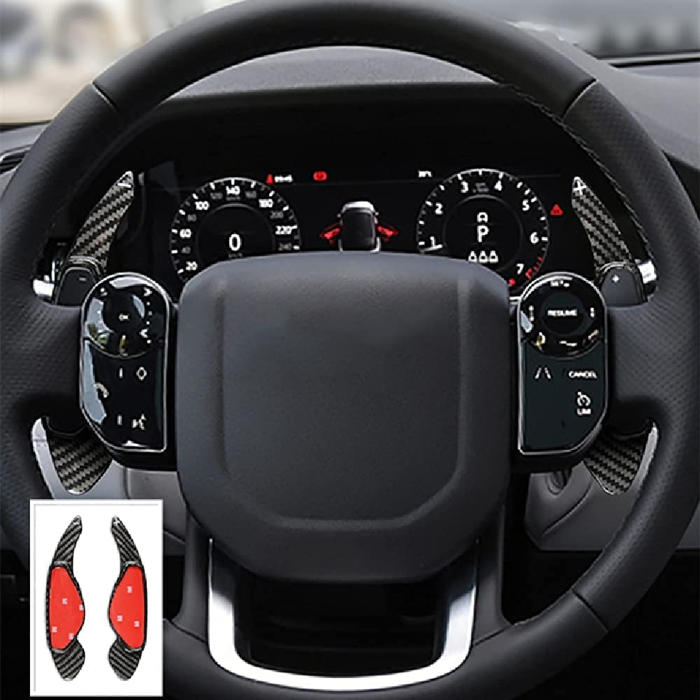 Paddle-Shifter Extension Limited time for 4 years warranty free shipping Jaguar Land-Rover - Carbon Fiber Pa