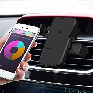 Wireless Car Charger Mount, Ninperdot Automatic Clamping Qi Fast Wireless Charging Phone Holder for iPhone Samsung Nexus Moto OnePlus HTC Sony Nokia and Android Smartphones Qi Certified