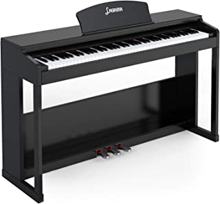LAGRIMA 88 Key Weighted Hammer Action Digital Piano w/Blueto