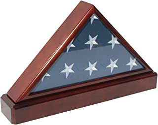Best triangle flag display case Reviews
