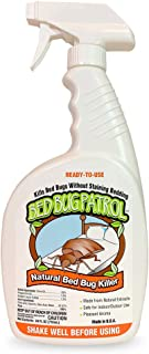 Bed Bug Patrol Bed Bug Killer - 100% Natural, Non-Toxic, Environmentally Friendly, Family & Pet Safe 24oz