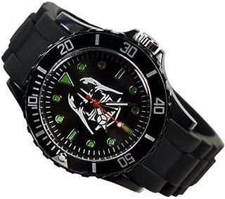 New Horizons Production Star Wars Darth Vader Black Silicone Band Wrist Watch