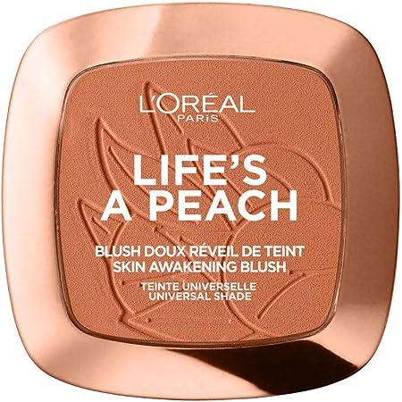 L'Oreal Paris Rubor en Polvo, Lifes A Peach, 9 g