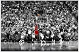 Michael Jordan Poster Last Shot 1998 Colorized (62x93 cm)