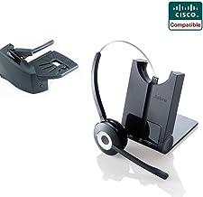 $239 » Cisco Compatible Jabra Pro 920 Cordless Headset EHS Bundle | Cisco phones: 6945, 7841, 7861, 7962g, 7965g, 7975g, 8811, 8841, 8845, 8851, 8861, 8865 (Lifter)
