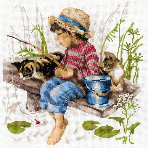 RIOLIS 1470 - Let's Go Fishing - Counted Cross Stitch Kit 12