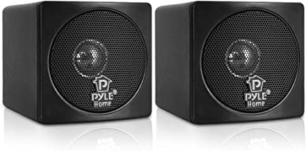 "3"" Mini Cube Bookshelf Speakers – 100W Small Bookshelf Speakers w/ 3"".."