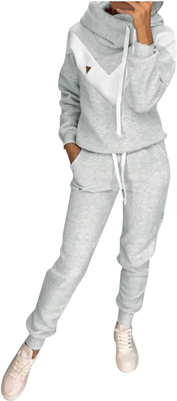 Sweatsuit for Women Regular store New item Long Sleeve Lounge Fl Set 2 Piece Activewear