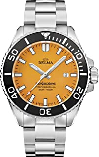 DELMA - Periscope Reloj para Hombre Analógico de Cuarzo con Brazalete de Acero Inoxidable 41701.654.6.158