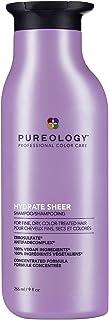 شامپو Pureology Hydrate Sheer Nourishing | برای موهای ریز ، خشک و درمان شده | بدون سولفات | بدون سیلیکون | وگان