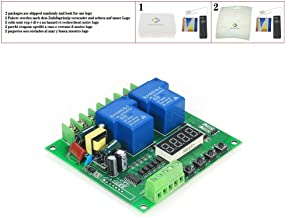 Dual 2-Channel Motor Driver Shield Board 30A LED Relay Module for Arduino Raspberry Pi 220V