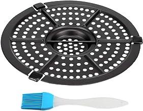 Air Fryer Replacement Pan For Power Dash Chefman 2QT Air Fryer Dishwasher Safe Crisp Plate Air Fryer Pan Nonstick Pan
