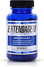 Extendagen - Male Fluid Enhancer & Volumizer Supplement Pills for Extended Performance - Boost Energy & Recovery - (60 ct)