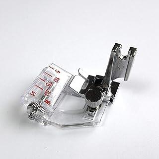piedino per PFAFF CKPSMS 9mm Open Toe Satin Stitch Metal Applique Foot with IDT