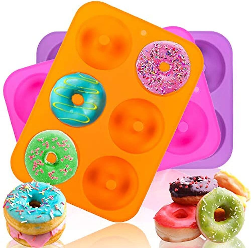 Silicone Donuts Baking Pan 3pcs Donut 100% Ranking TOP3 Mo New sales NonStick