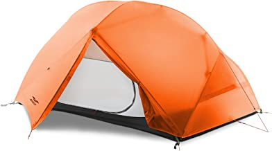 MIER 2-Person Camping Tent Easy Setup Lightweight Backpacking Tent with Footprint, 3 Season and 4 Season Dome Tent
