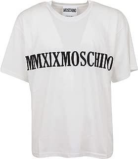 Luxury Fashion | Moschino Mens J070452401002 White T-Shirt | Autumn-Winter 19