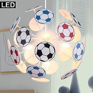 LED Hänge Leuchte Fliegen Pilz Kinder Spiel Zimmer Pendel Decken Lampe rot weiß