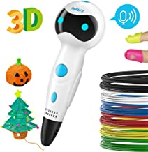 Pluma Impresión 3D, Nulaxy 3D Pen Niños Adultos, 3D Pluma Inteligente Kid Pen Set con Filamentos, para Drawing Printing Estereoscópica Garabatos el Mejor Regalo de Cumpleaños