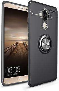 Funda Huawei Mate 9, Multi-Funcional Anillo Kickstand 360