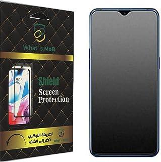 واقي الشاشة المصنوع من السيراميك النانو لهاتف Oppo A15s مضاد للبصمة والصدمات بواسطة واتس موب - شفاف