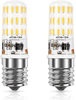 Dimmable,Kakanuo E17 Microwave Oven Light 4W Equivalent,E17 LED Bulb Warm White 3000K,Intermediate Base 43X4014SMD AC110-130V (Pack of 2)