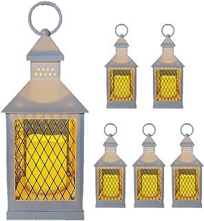 THE NIFTY NOOK Farm House Lanterns {6 Pc Set} 10