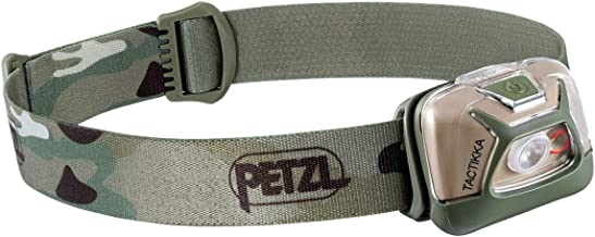 PETZL, TACTIKKA Headlamp, 300 lumens, Ultra-Compact Headlamp