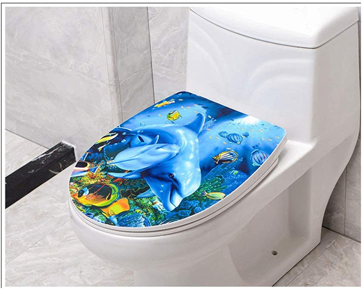 Toilet Lid & Tank Covers Toilet Seat V U O Shape Compatible Toilet Seat With Soft Close Adjustable Hinge Quick Release Top Mounted Toilet Lid Anti-Bacterial Toilet Seat (color   D)