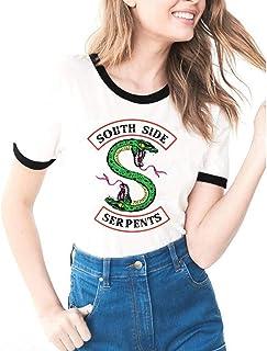 T-Shirt Riverdale NE ME Cherche Pas Je suis Une Southside Serpents