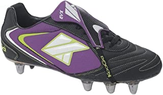 Kooga FT-X low cut soft toe rugby boot [black]