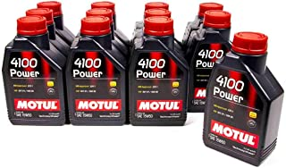 Motul 1L Engine Oil 4100 Power 15W50 - Vw 505 00 501 01 - Mb 229.1 By Jm Auto Racing (102773)