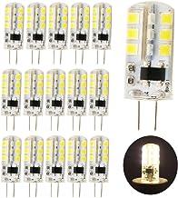 15 stuks G4 LED-lampen warmwit 3 W 260 lm vervanging voor 25 W halogeenlampen 220 V AC, 3000 K, 360 graden, LED pin fittin...