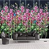 Yhzer Papillon Hd Fleur De Chanvre Fond D'Écran Mural, Papier Peint, Affiche Photo...