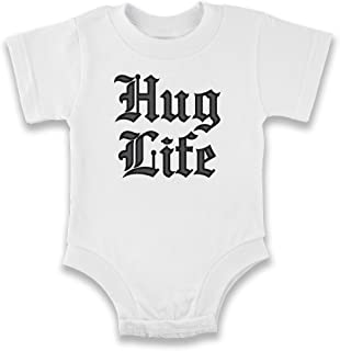 Hug Life Infant Baby Boy Girl Bodysuit