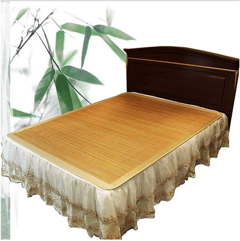 Bamboo Mat Double-Sided Folding Single Student Dormitory Bamboo Mat