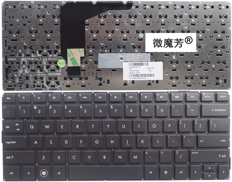 US Black New Sales for sale English Replace laptop HP Envy13 F Selling rankings keyboard FOR