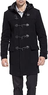 BGSD Men's Benjamin Wool Blend Classic Duffle Coat (Regular Big & Tall