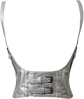 Alivila.Y Fashion Womens Faux Leather Steampunk Sexy Underbust Waist Belt Corset