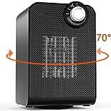 Calentador de espacio eléctrico oscilante automático con...