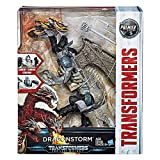 Transformers: The Last Knight Premier Edition Leader Dragonstorm Combiner - Convertible Toy: Fight as Two Knights or One Three-Headed Dragon - Detailed Design