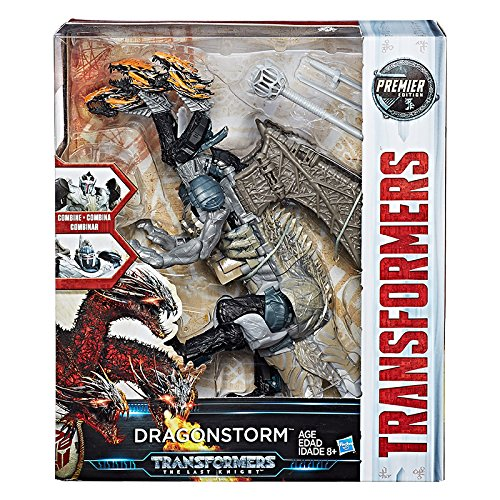 Transformers: The Last Knight Premier-Edition Leader-Class Dragonstorm-Actionfigur