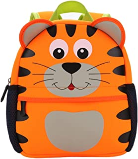 Toddler Backpack Kids School Bag Lunch Bag Cute 3D Cartoon Animal Book Bag for 1-3 Year Older Boys and Girls