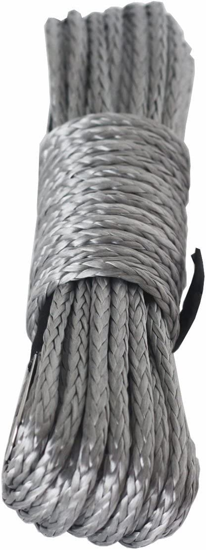Synthetische Seilwinde Line Kabel 1 4 X 48 5 Mmx15 M 7700lbs Seilwinde Atv Utv Quad Dyneema Sk78 Kunststoff 4 X 4 Offroad Wi Auto