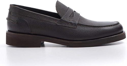 J. WILTON - Full Grain Dark marron Loafers - 260 3256SCOTLAND BRAKEN