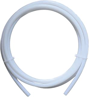 RuiLing 1 Piece PTFE Tube 3D Printer Supplies & Accessories for Long Distance Nozzle Feed Tube J-Head Hotend Extruder Feeding Tube ID 2mm OD 4mm Length 2m