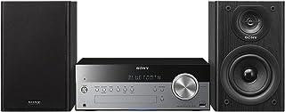 comprar comparacion Sony CMT-SBT100 - Microcadena Hi-Fi de 50W (estéreo, CD, Am/FM, Bluetooth, NFC, USB), Negro y Plateado